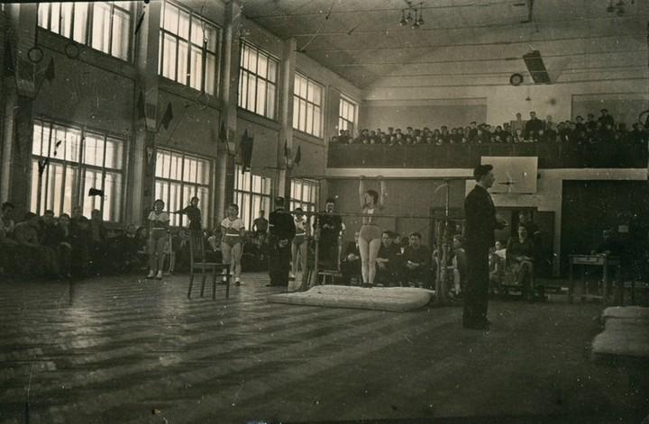 Спорт в послевоенной России. Гимнастика (12)