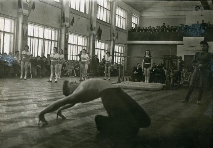 Спорт в послевоенной России. Гимнастика (13)