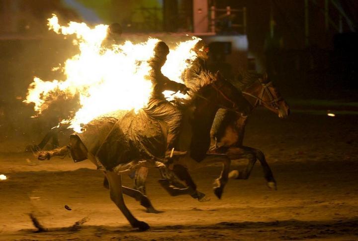 Церемония открытия Всемирных игр кочевников в Кыргызстане (13)