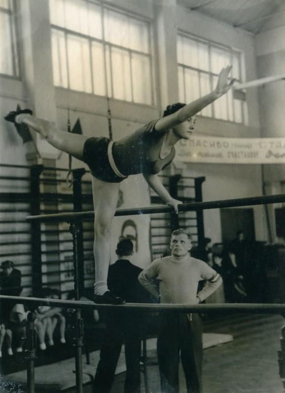 Спорт в послевоенной России. Гимнастика (14)