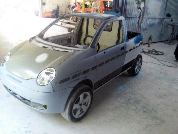 Пикап из Daewoo Matiz (14)