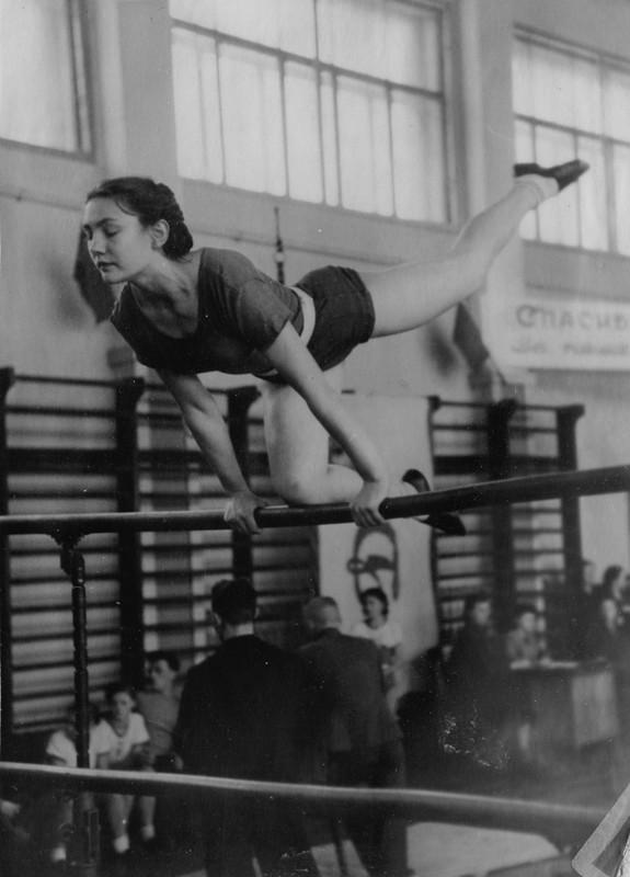 Спорт в послевоенной России. Гимнастика (15)