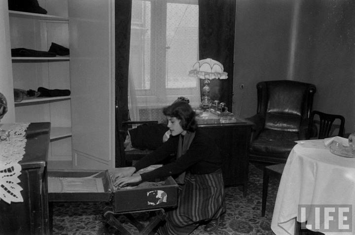 Туристы из Америки в Ленинграде 1956 г (15)