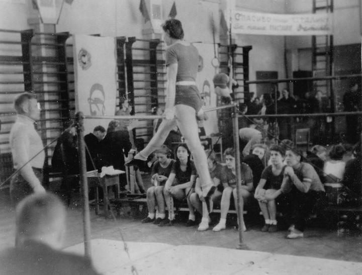 Спорт в послевоенной России. Гимнастика (16)