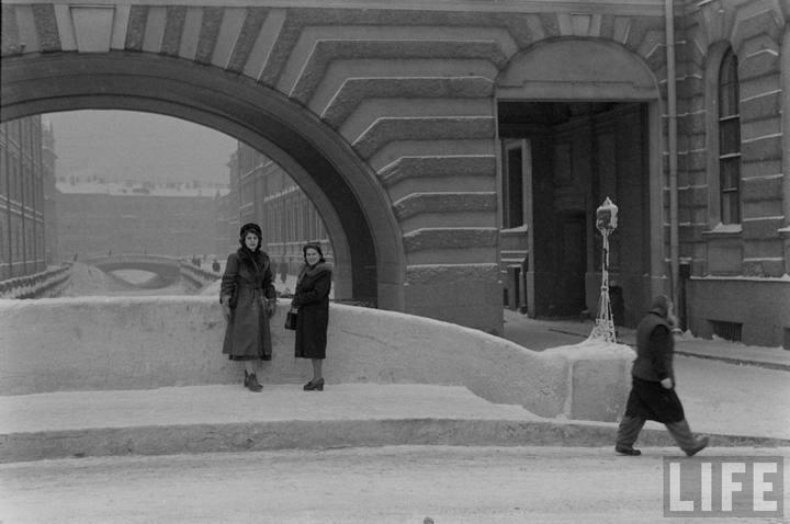 Туристы из Америки в Ленинграде 1956 г (17)