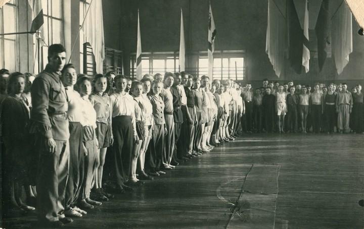 Спорт в послевоенной России. Гимнастика (17)