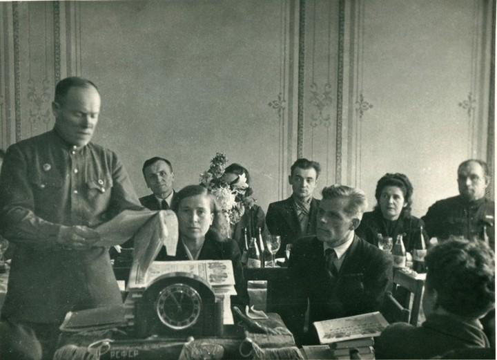 Спорт в послевоенной России. Гимнастика (18)
