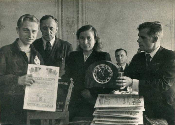 Спорт в послевоенной России. Гимнастика (19)