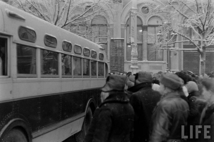 Туристы из Америки в Ленинграде 1956 г (20)
