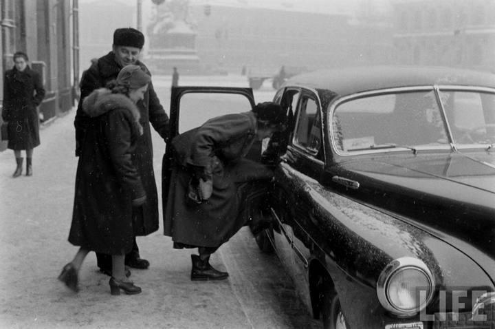 Туристы из Америки в Ленинграде 1956 г (21)