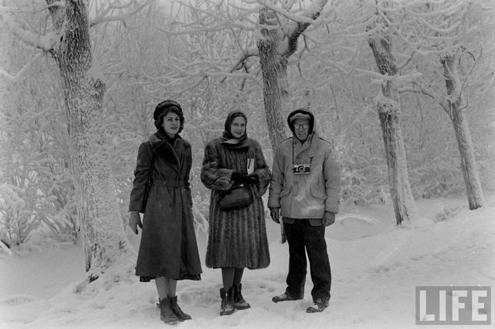 Туристы из Америки в Ленинграде 1956 г (27)
