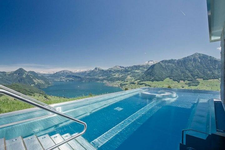 Райское местечко в швейцарских Альпах (1)