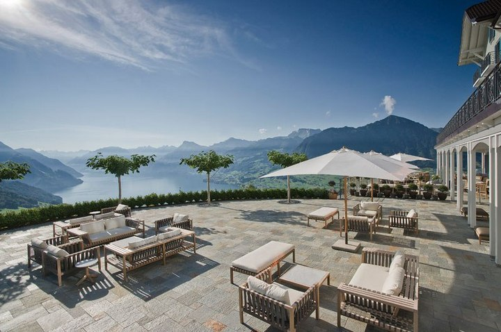 Райское местечко в швейцарских Альпах (10)