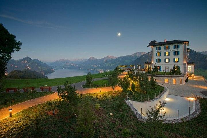 Райское местечко в швейцарских Альпах (11)