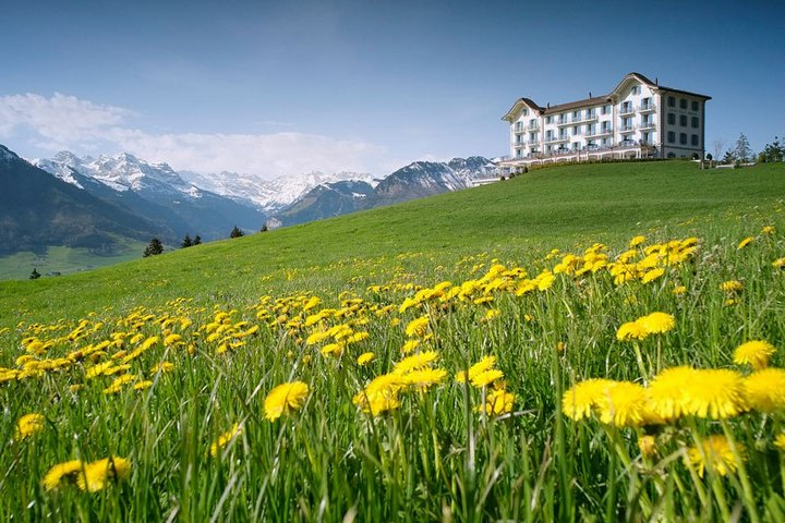 Райское местечко в швейцарских Альпах (12)