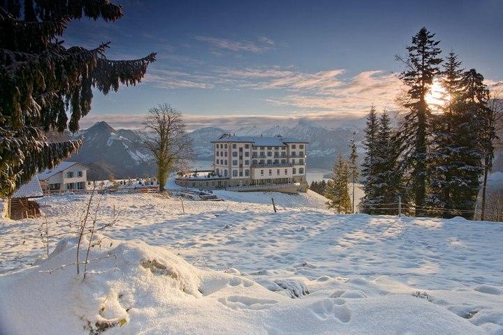 Райское местечко в швейцарских Альпах (13)