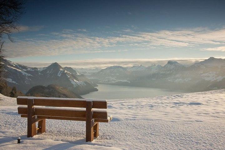 Райское местечко в швейцарских Альпах (14)