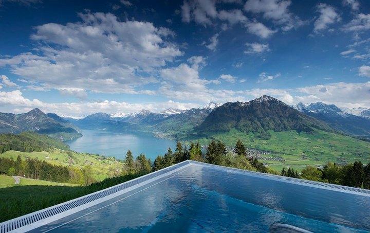 Райское местечко в швейцарских Альпах (2)