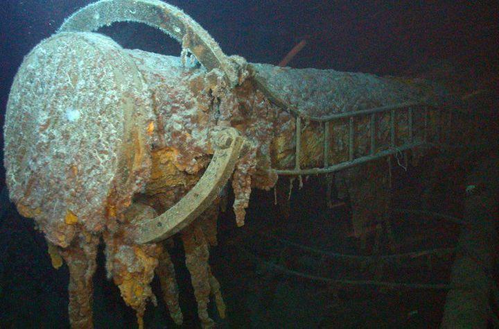 Удивительные находки с затонувших кораблей (3)