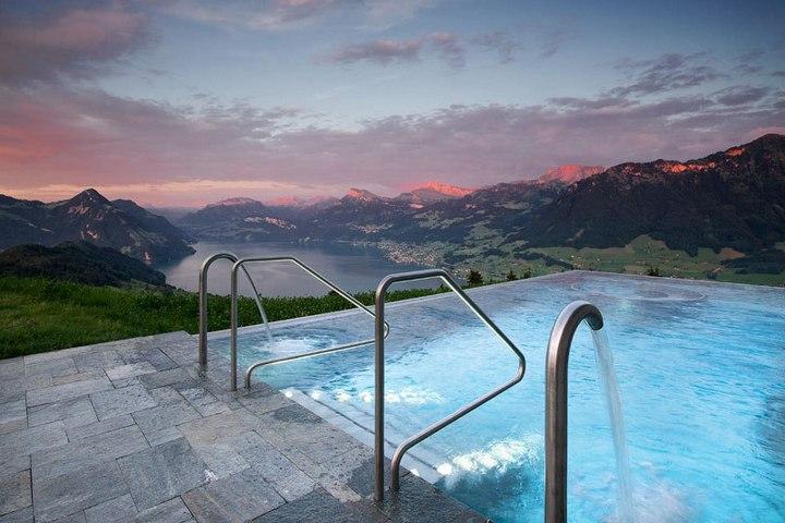 Райское местечко в швейцарских Альпах (3)