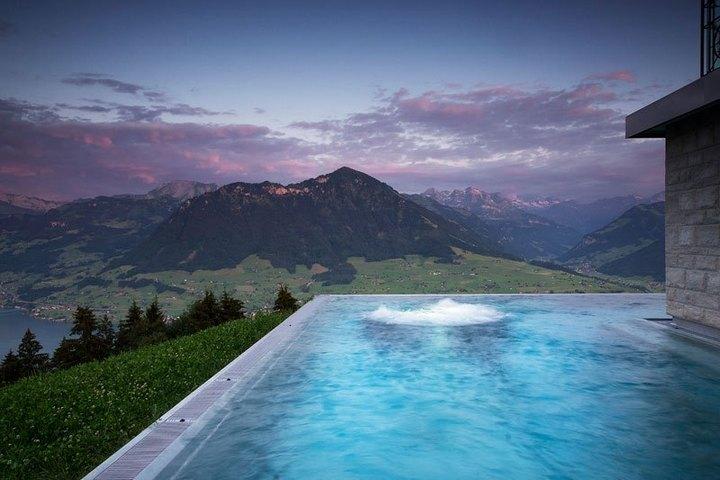 Райское местечко в швейцарских Альпах (4)