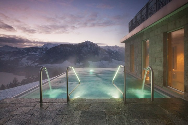Райское местечко в швейцарских Альпах (5)