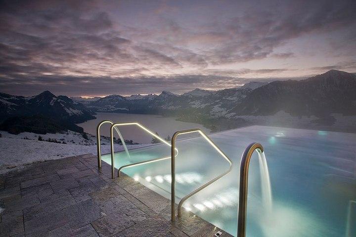 Райское местечко в швейцарских Альпах (6)