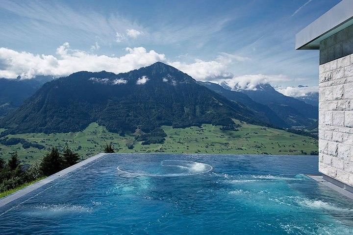 Райское местечко в швейцарских Альпах (7)