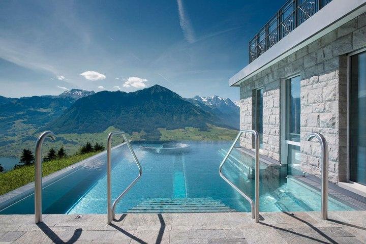 Райское местечко в швейцарских Альпах (8)