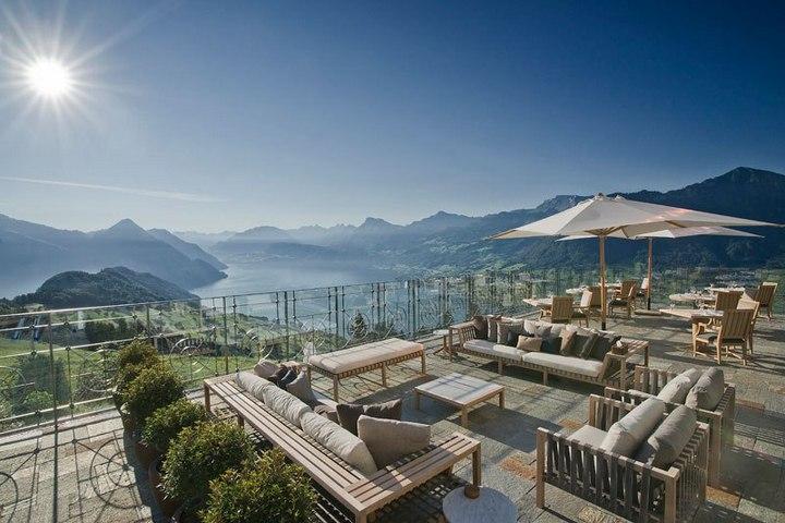 Райское местечко в швейцарских Альпах (9)