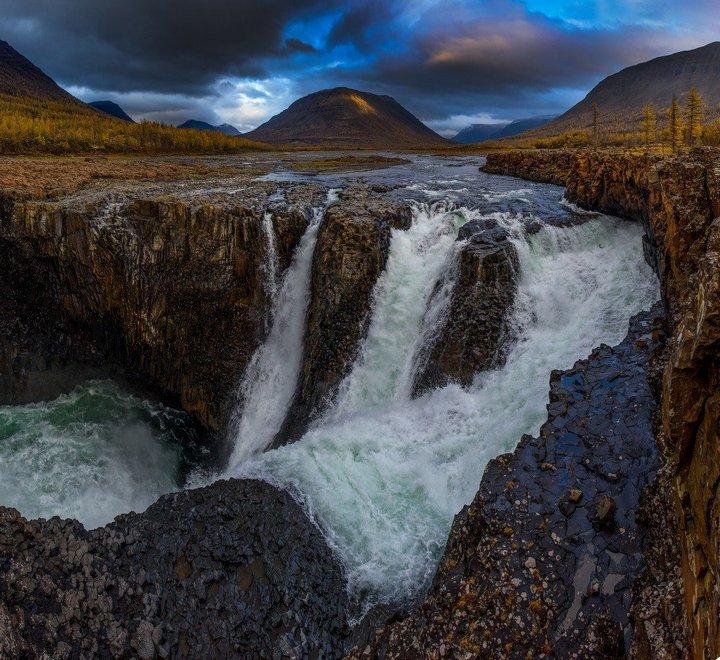 Самый большой водопад в России (2)