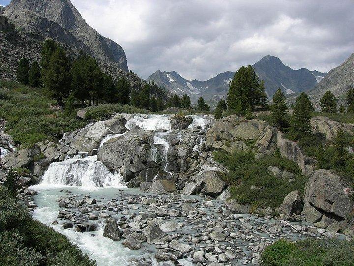 Самый большой водопад в России (3)
