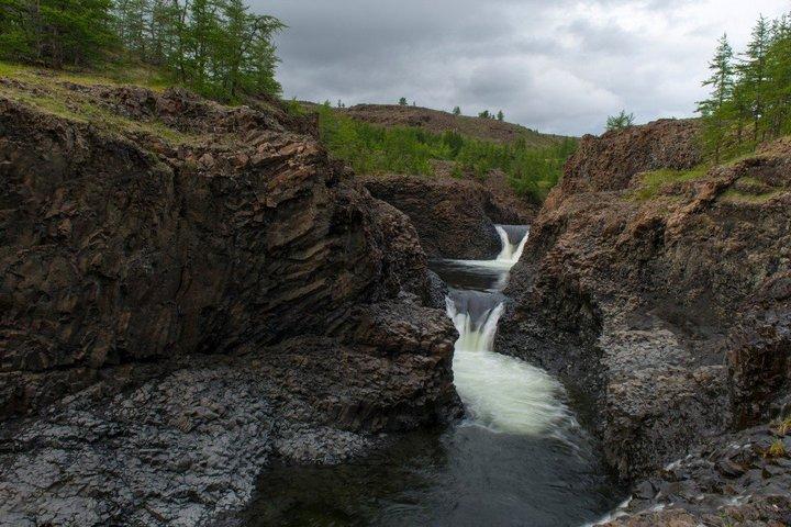 Самый большой водопад в России (4)