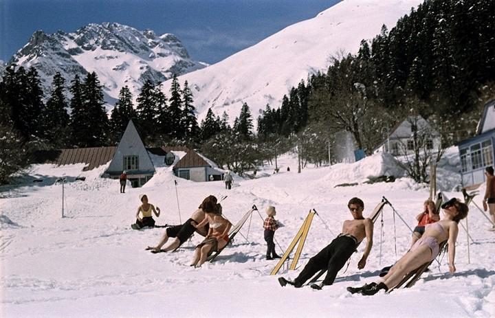 Спорт в СССР. Фотограф Семён Фридлянд (6)