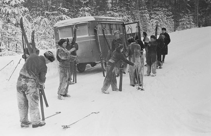 Спорт в СССР. Фотограф Семён Фридлянд (7)