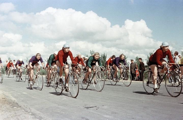 Спорт в СССР. Фотограф Семён Фридлянд (8)