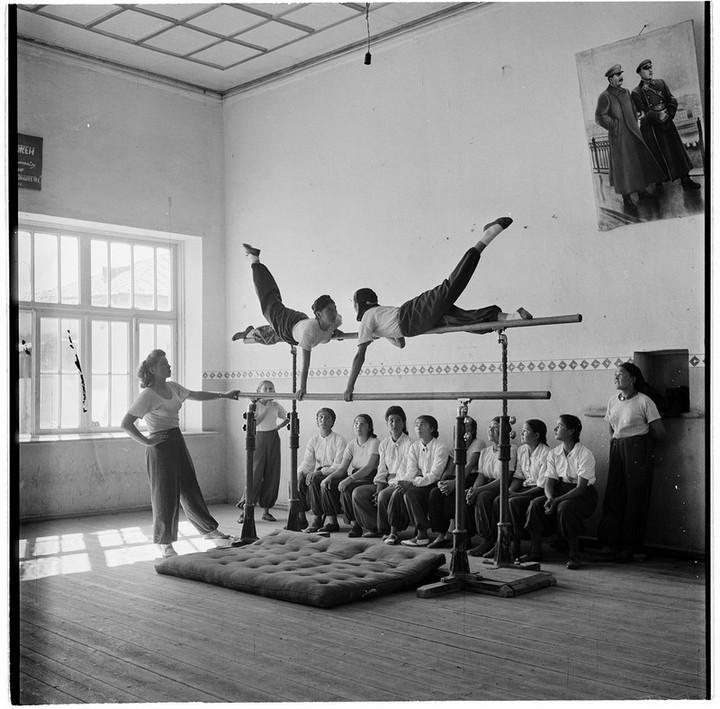 Спорт в СССР. Фотограф Семён Фридлянд (11)