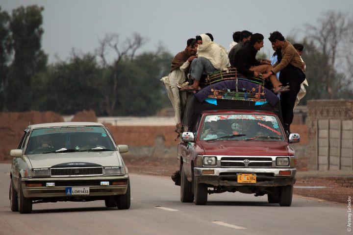 Транспорт в Пакистане, интересные особенности (16)