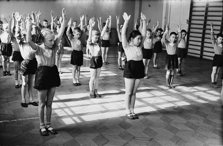 Спорт в СССР. Фотограф Семён Фридлянд (16)