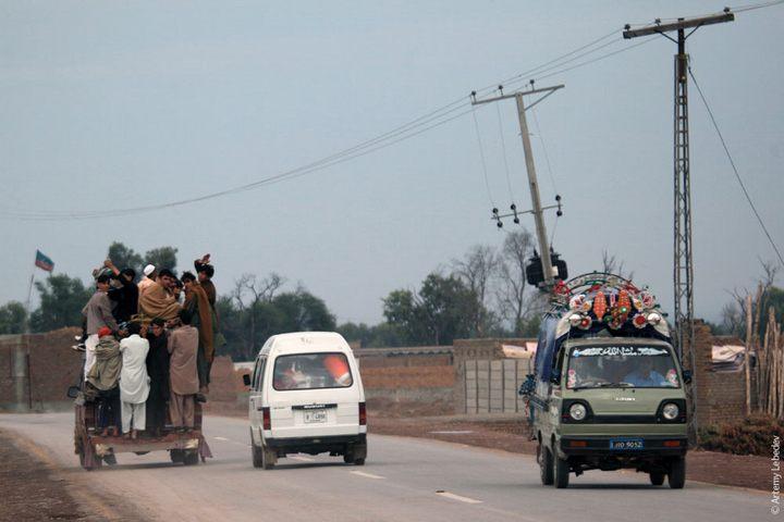 Транспорт в Пакистане, интересные особенности (17)