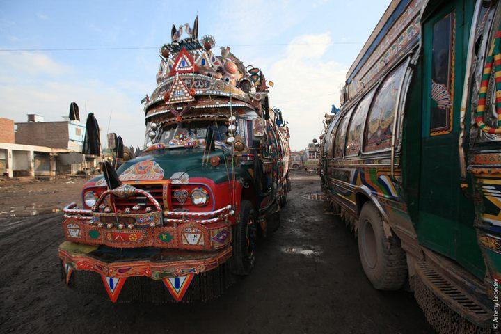 Транспорт в Пакистане, интересные особенности (32)