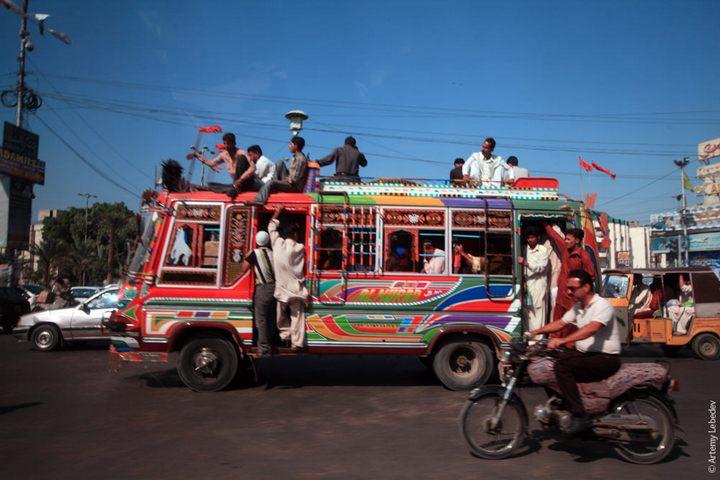 Транспорт в Пакистане, интересные особенности (37)