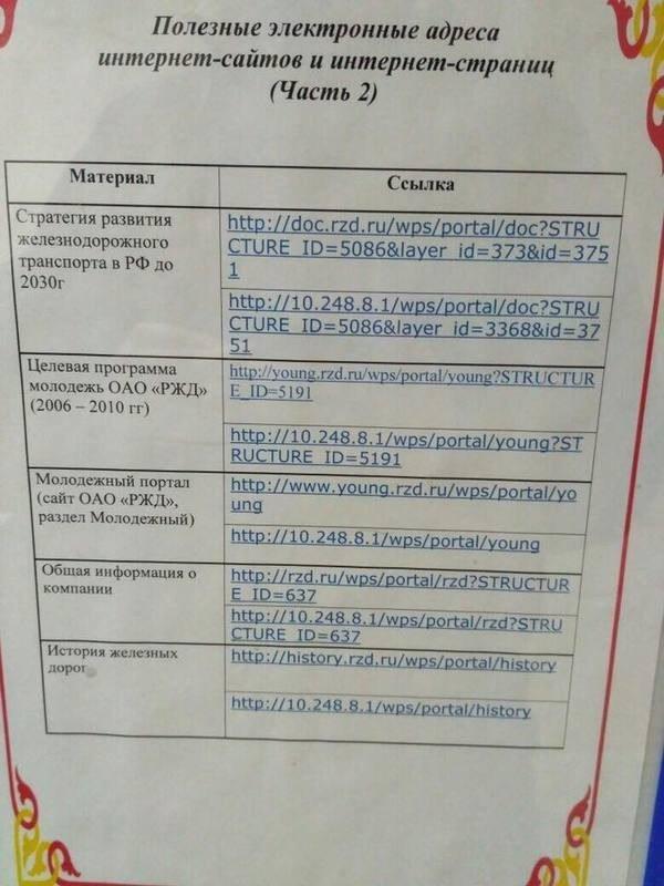 Зацените объявление рядом с кассами РЖД