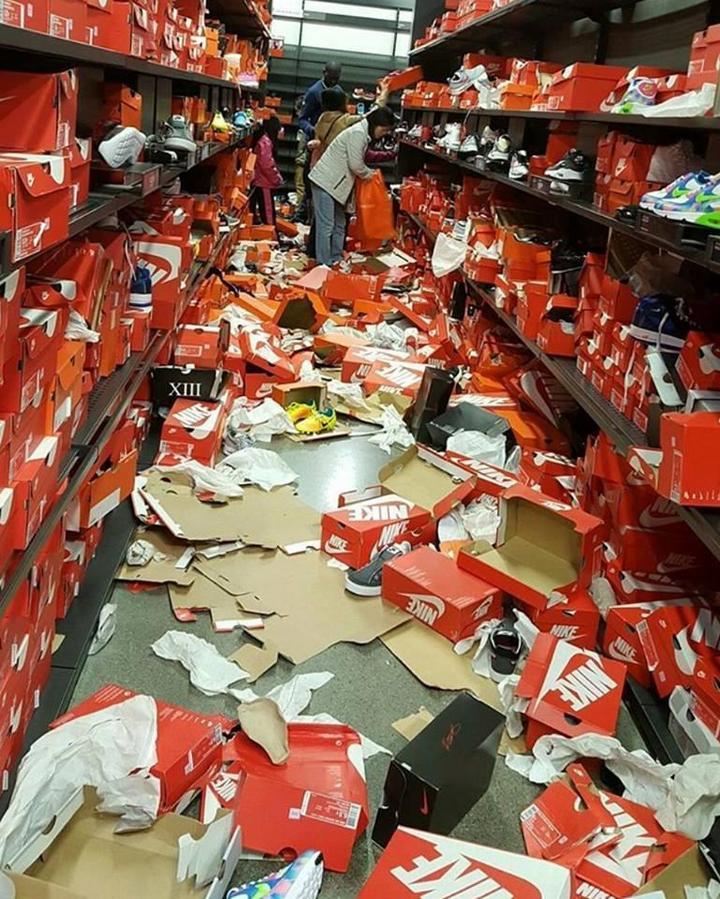 Как прошла Черная пятница в одном из дисконтов Nike в городе Сиэтл (2)