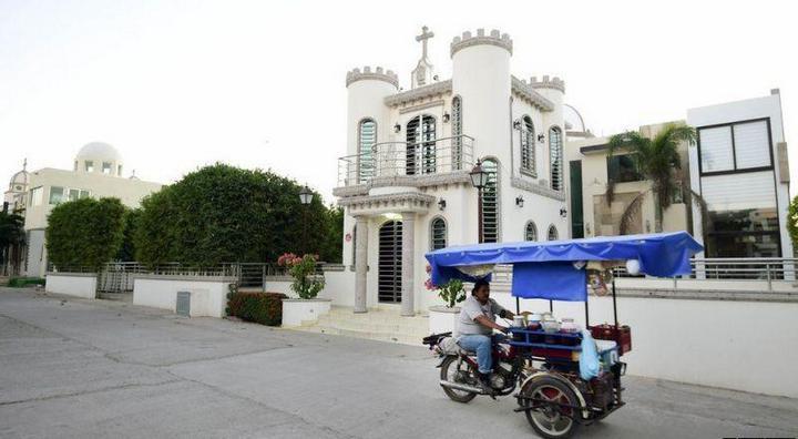 Роскошное кладбище мексиканских наркобаронов (4)