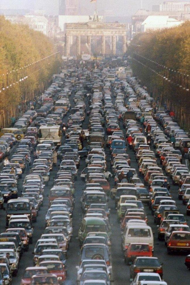 Шесть самых больших автомобильных пробок в истории (5)