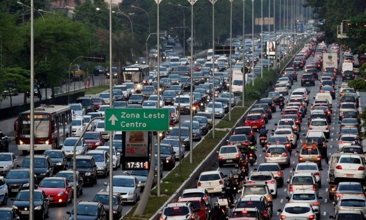 Шесть самых больших автомобильных пробок в истории (6)