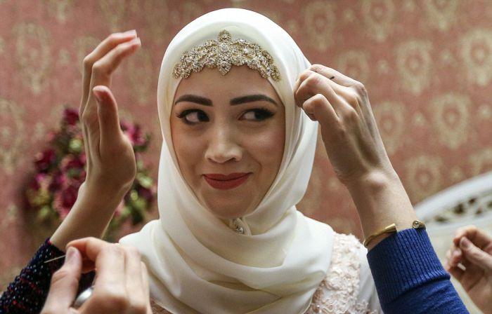 Как празднуют традиционные чеченские свадьбы в Грозном (4)