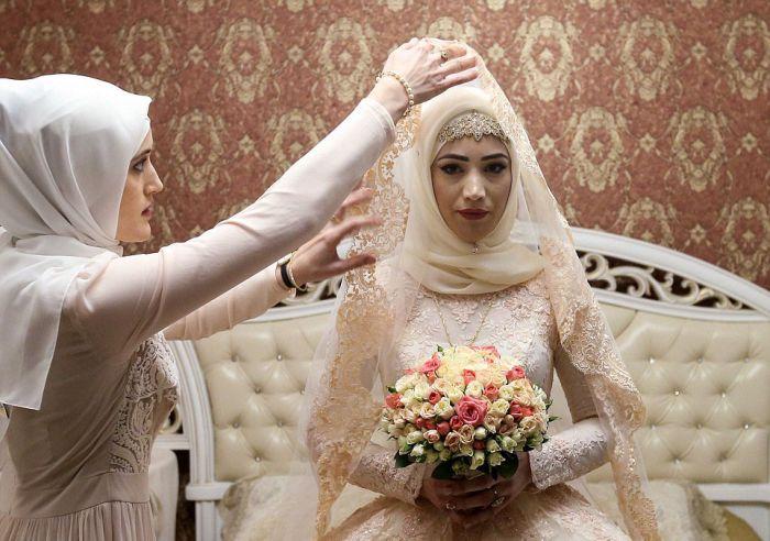 Как празднуют традиционные чеченские свадьбы в Грозном (5)