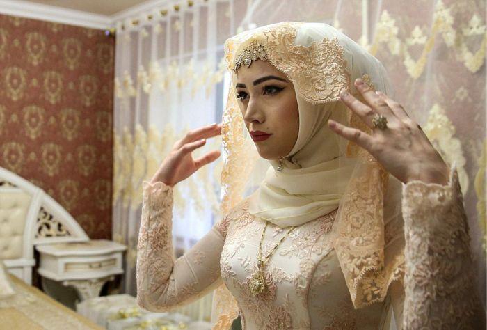 Как празднуют традиционные чеченские свадьбы в Грозном (6)